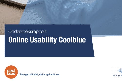 Onderzoeksrapport Online Usability Coolblue